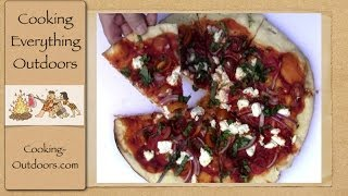 Grilled Goat Cheese Pizza | Kettle Pizza Accessory | Cooking Outdoors