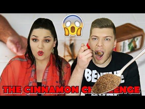 THE CINNAMON CHALLENGE | ПОГОДИ КОЈ СУМ..!? | Ivona & Mario