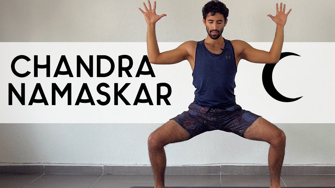 Saludo a la Luna   Yoga con Baruc - YouTube