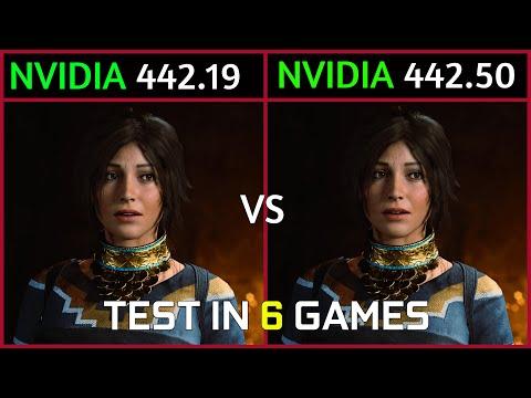 Nvidia Drivers 442.19