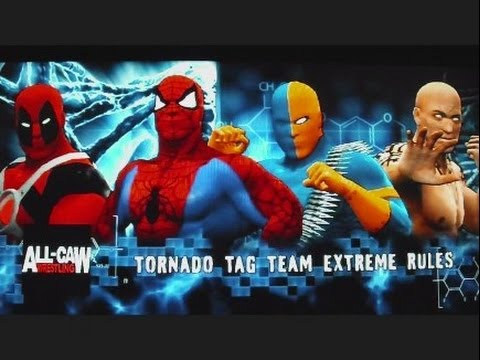 how to make spiderman wwe 12