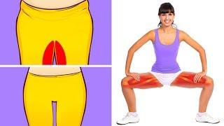 10 упражнений для подтянутых бедер за 10 минут