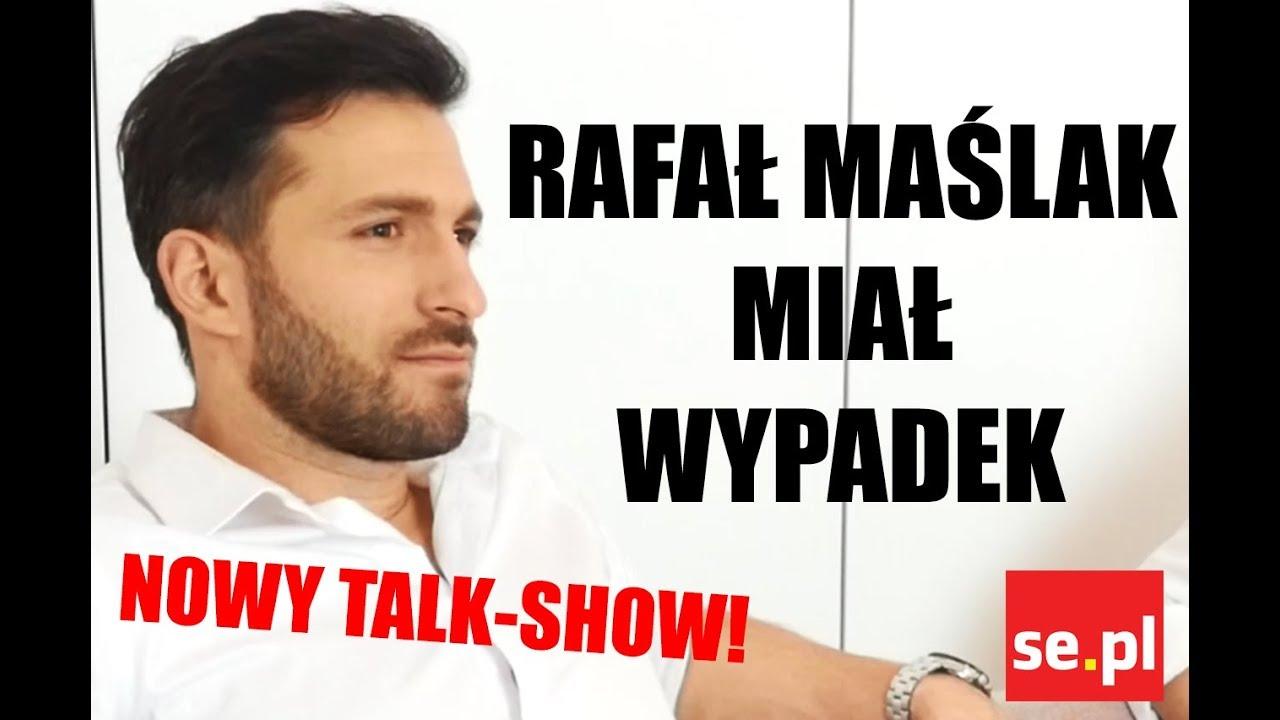 Rafał Maślak miał WYPADEK – chciał zaimponować dziewczynie l NOWY TALK-SHOW!
