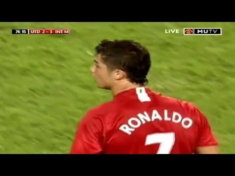 Cristiano Ronaldo Vs Inter Milan 07-08 By Hristow (music version)