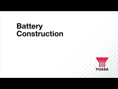 GS Yuasa - battery basics: construction overview