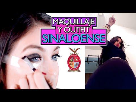 Como Maquillarte y Vestirte Como Sinaloense (Tutorial de Maquillaje de Culiacan, Sinaloa)