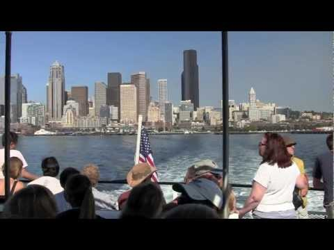 A ride on the King County Water Taxi in Seattle, WA