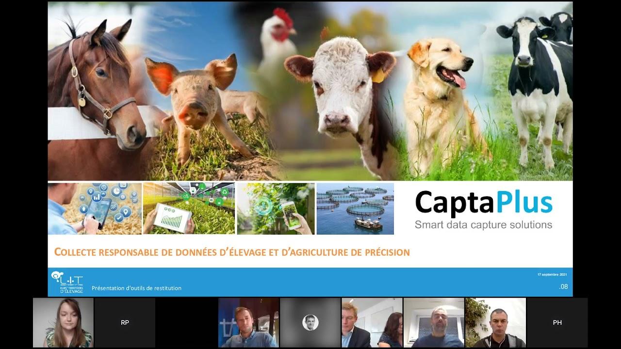 """Rediffusion : webinaire """"Le numérique au service du bien-être des animaux d'élevage"""""""