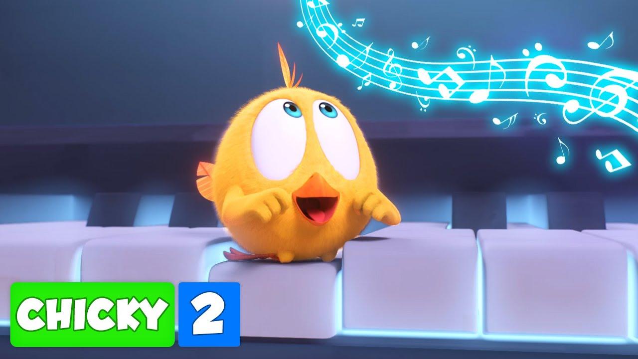 Onde está Chicky? CHICKY TEMPORADA 2 | A MÚSICA | Desenhos Animados Infantil