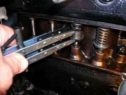Model T Ford Valve Job