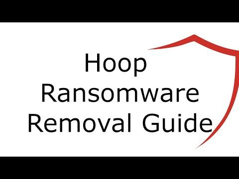 Hoop File Virus Ransomware [.Hoop ] Removal and Decrypt .Hoop Files