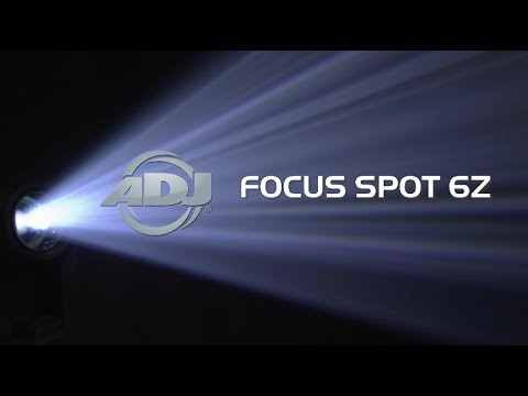 ADJ Focus Spot 6Z Product Video