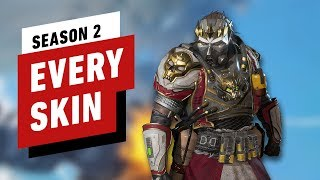 Apex Legends: Every Skin and Reward in Season 2's Battle Pass