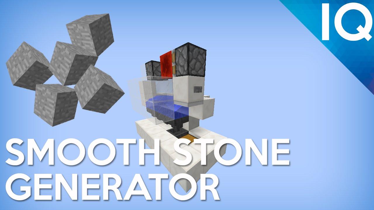 minecraft smooth stone generator 1.14