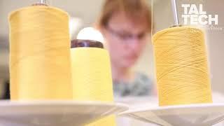 Toote valmimine TalTech Polümeeride ja tekstiilitehnoloogia laboris