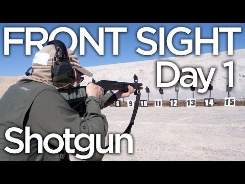 Front Sight Tactical Shotgun: Day 1 Recap