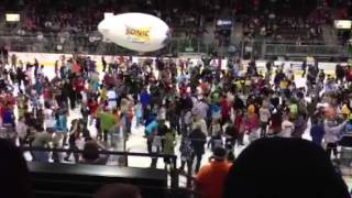 Harlem Shake at Wenatchee Wild game