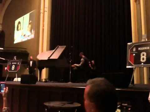 Arthur Moats playing at Brian Moorman