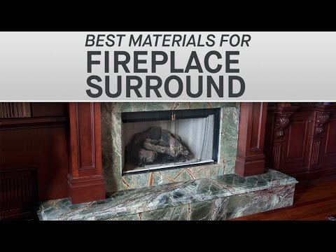The Best Materials for your Fireplace Surround | Marble