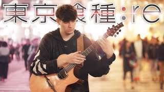 Cover images Tokyo Ghoul:re OP Full - asphyxia - Fingerstyle Guitar Cover