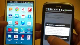 Видео: сравнение HTC Desire X и Samsung Galaxy S3 Mini