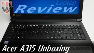 Acer Aspire A315 - Unboxing & Review