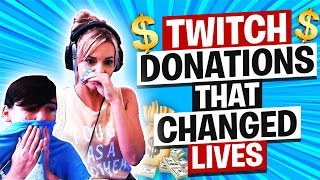 TWITCH DONATIONS THAT CHAΝGED LIVES! ($100,000) Week #14