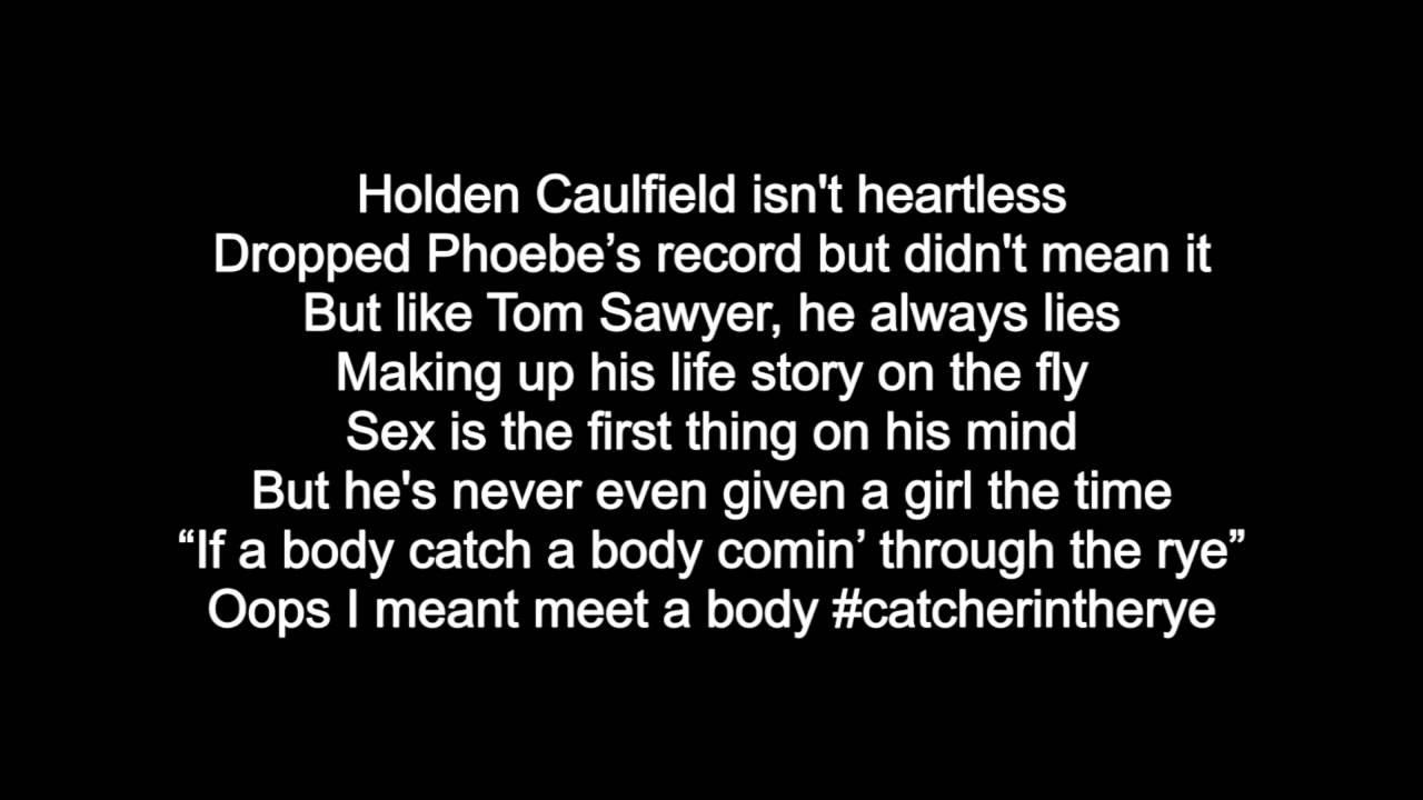 Song that relates to Cather in the Rye?