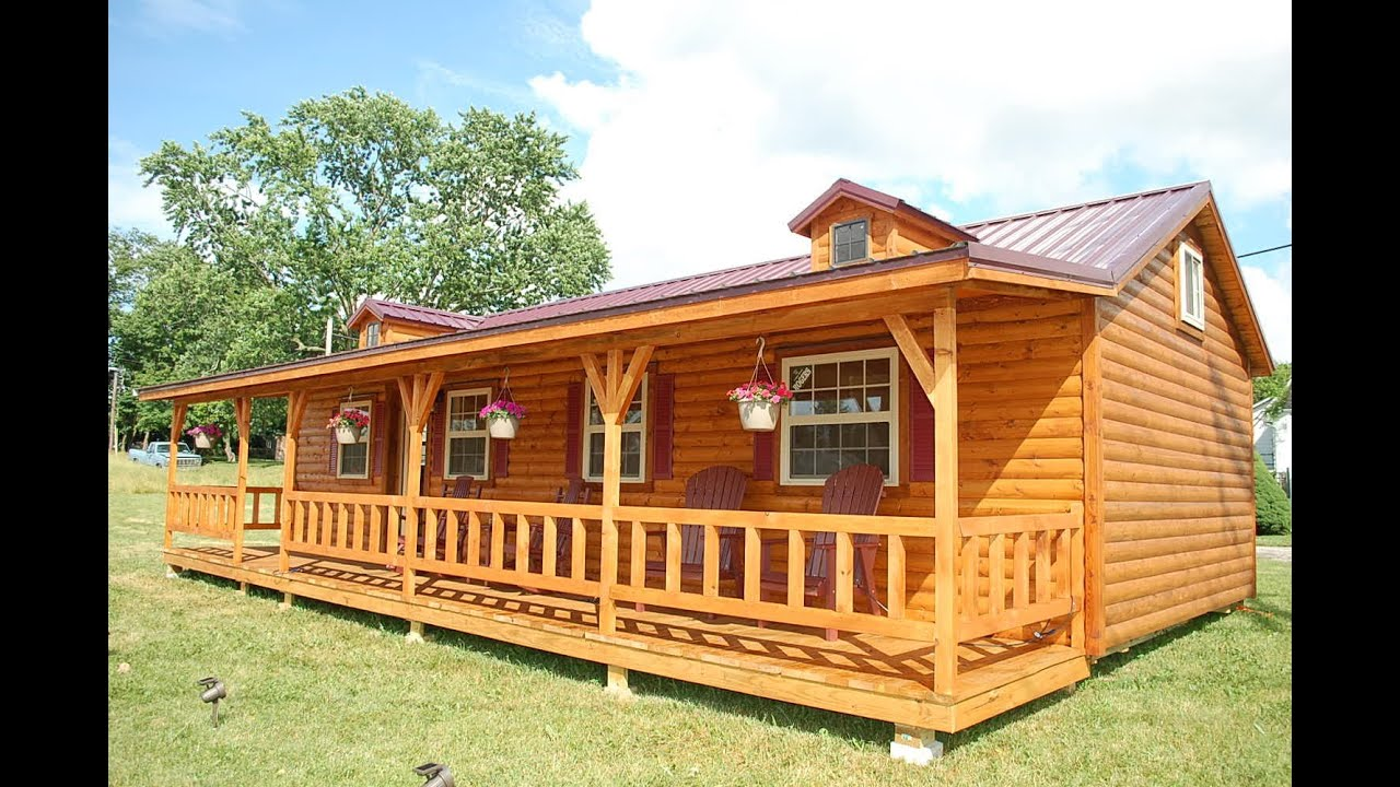 amish cabin company appalachian model tour youtube rh youtube com pre manufactured cabins michigan pre manufactured cabins