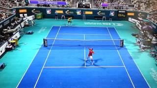 PS3 Virtua Tennis 4 Exhibition Match Rafael Nadal vs Novak Djokovic