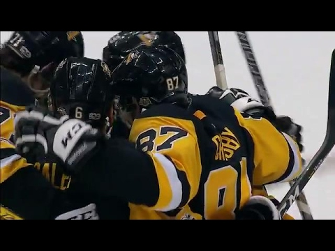Crosby beats Anderson for his seventh goal of the playoffs