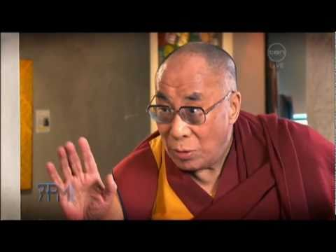 Funny Dalai Lama interview on The 7pm Project (Australia) 2011