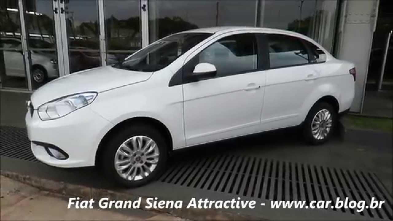 Fiat Grand Siena 2016 Attractive  Detalhes  Consumo  Pre U00e7o -  Car Blog Br