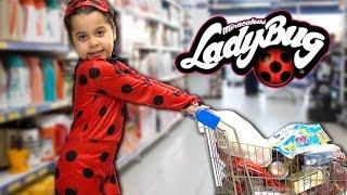 MIRACULOUS LADYBUG NO SUPERMERCADO - Aventuras da LadyBug