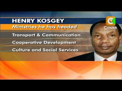 Kosgey The Man