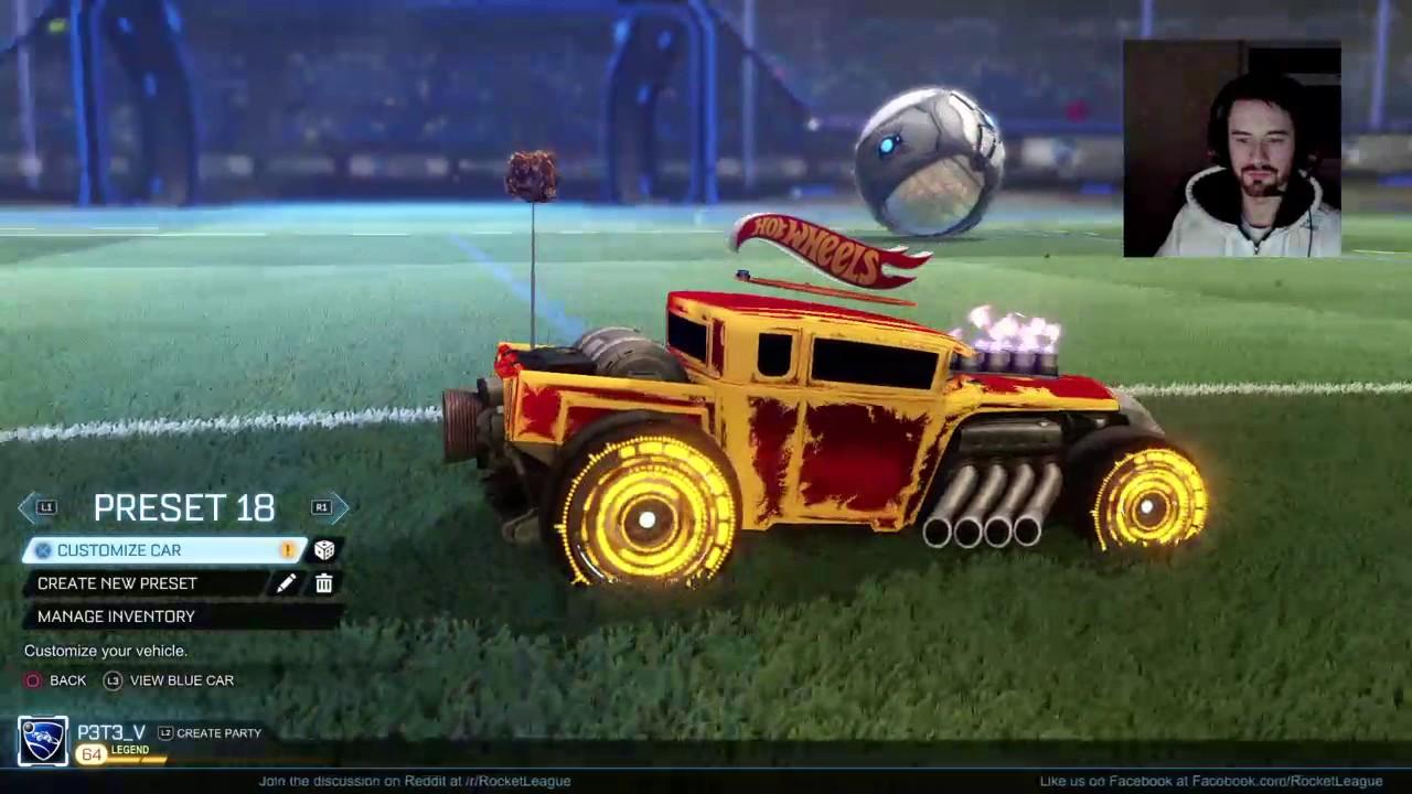 Rocket League Hot Wheels Cars Rock!   Livestream!