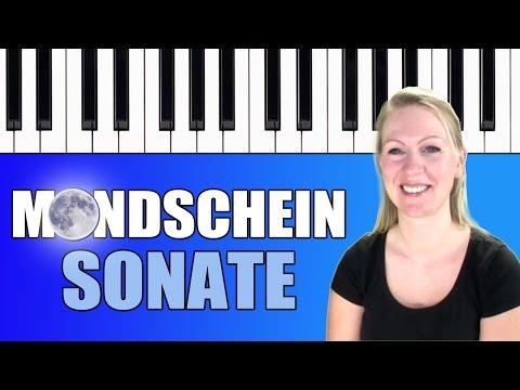 Klavier spielen lernen für Anfänger: Beethovens Mondscheinsonate