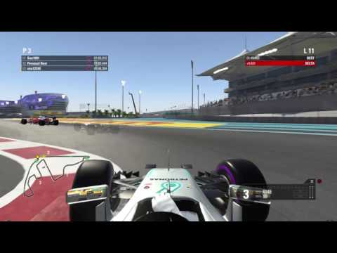 F12016 Attempting Elite Setting's On Abu Dhabi Time Trial