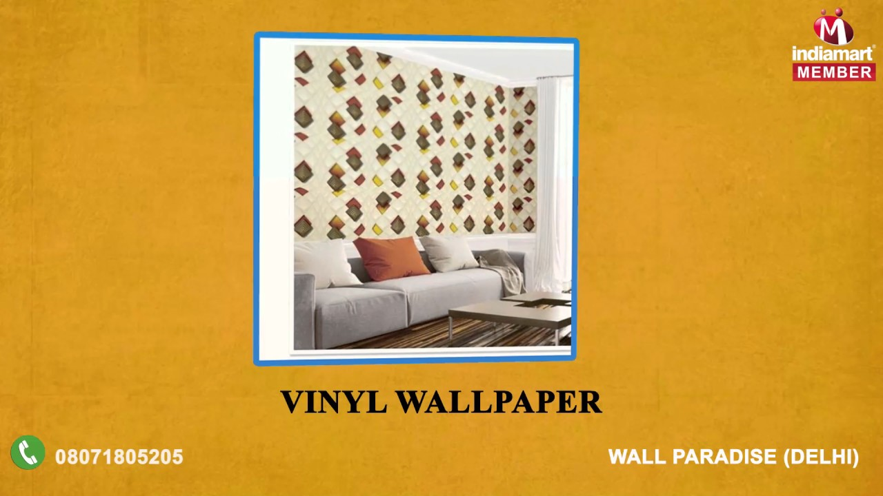 Wallpaper Collection by Wall Paradise, Delhi - YouTube