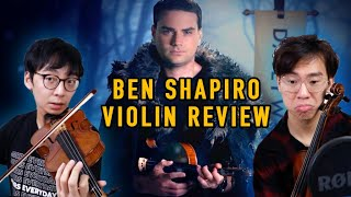 Classical Violinists Reviewing Ben Shapiro's Violin Playing with Facts and Logic