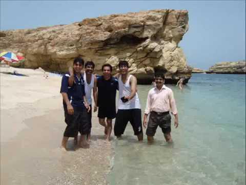 Khurram Waqas Malik with friends at...