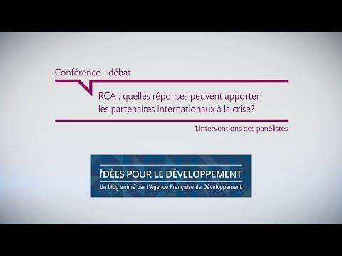 RCA : quelles réponses peuvent apporter les partenaires internationaux à la crise ? part.1/2
