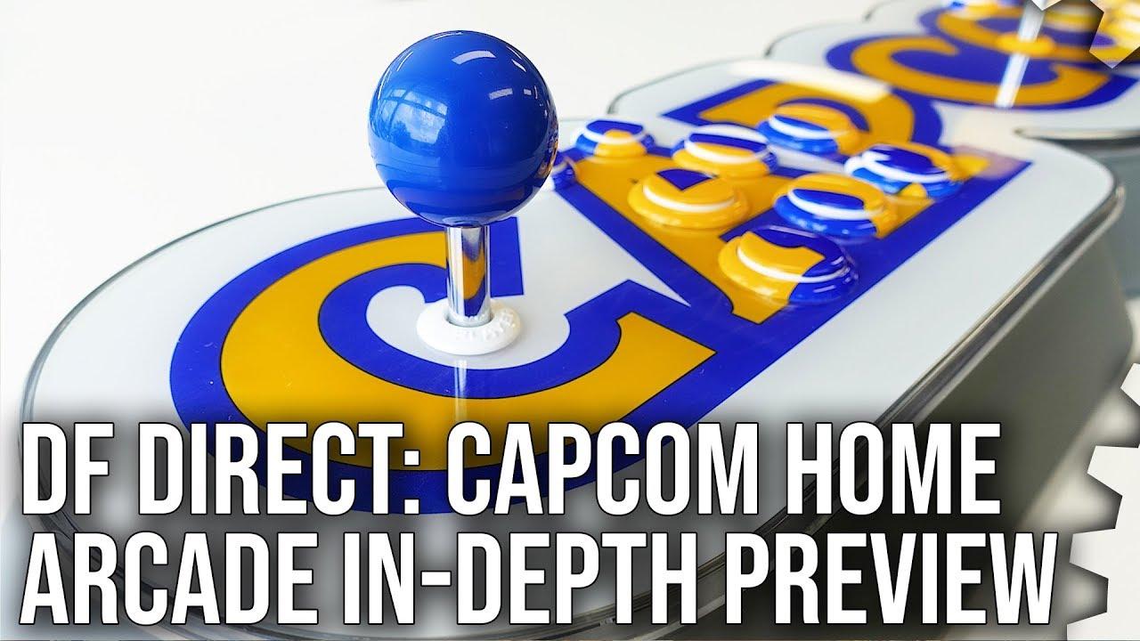 Hands on with the Capcom Home Arcade • Eurogamer net