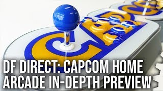 DF Direct! Capcom Home Arcade Hands-On! - CPS1/2 Emulation in the Living Room!