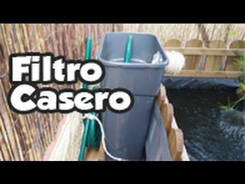 Filtro casero para acuarios y estanques 1era versi n for Filtro estanque koi