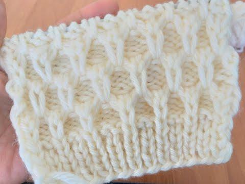 Узор для шапок, беретов и не только. Вязание спицами.