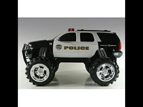 police car toy for kids cartoon for children
