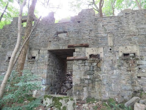 Exploring The Abandoned Ruins Of The Mahanoy Plane