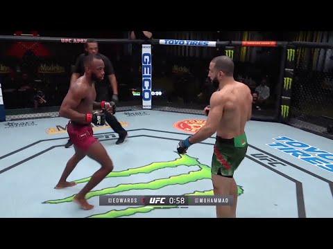 UFC Vegas 21: Edwards vs. Muhammad – Highlights