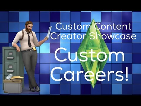 Sims 4 Custom Content Creator Showcase:Custom Careers!